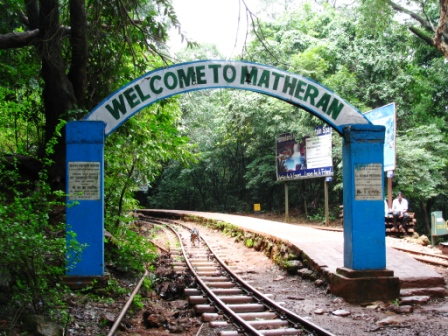 Entrance of Matheran